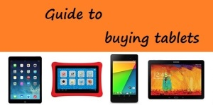 Guide to buying tablets